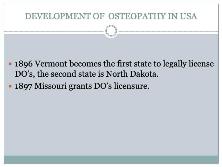 Brousseau & Pontrandolfi - A Short History Of Osteopathy